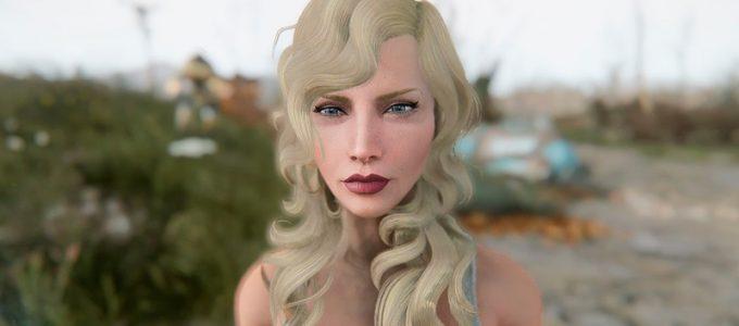 Скарлетт Йоханссон Пресет Моды для Fallout 4 / Фоллаут 4