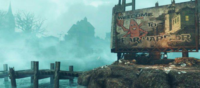 DLC Far Harbor Патчи Моды для Fallout 4 / Фоллаут 4