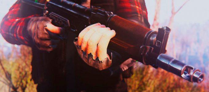 """Модульный """"Калаш"""" Штурмовая винтовка Оружие Моды для Fallout 4 / Фоллаут 4"""