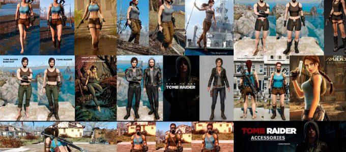 Tomb Raider костюмы Броня и Одежда Моды для Fallout 4 / Фоллаут 4