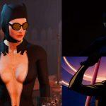 Одеяние женщины-кошки CBBE Броня, Одежда Моды для Fallout 4 / Фоллаут 4
