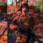 Замена анимаций с оружием от третьего лица Моды для Fallout 4 / Фоллаут 4