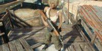 Камуфляж доктора Содружества CBBE Bodyslide Броня Моды для Fallout 4 / Фоллаут 4