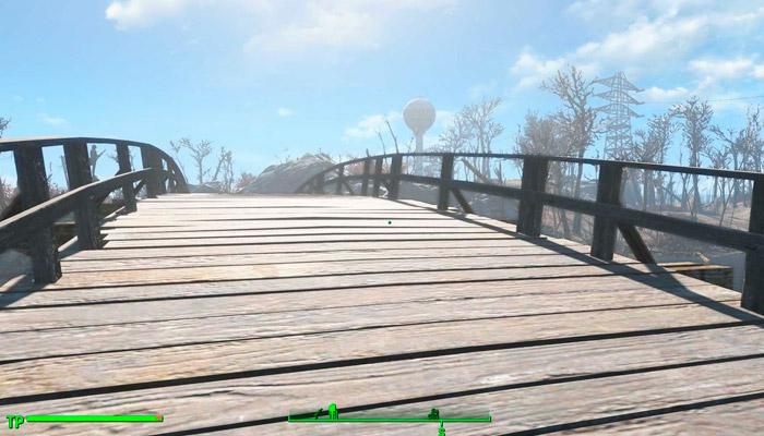 Фикс моста Сэнкчуари-Хиллз от TTek Моды для Fallout 4 / Фоллаут 4