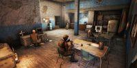 Кембриджский полицейский участок Дома Моды для Fallout 4 / Фоллаут 4