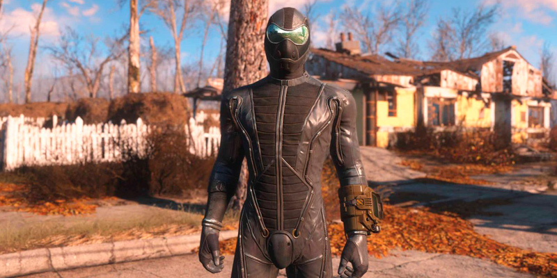 Фикс стекла шлема брони из Far Harbor Моды для Fallout 4 / Фоллаут 4