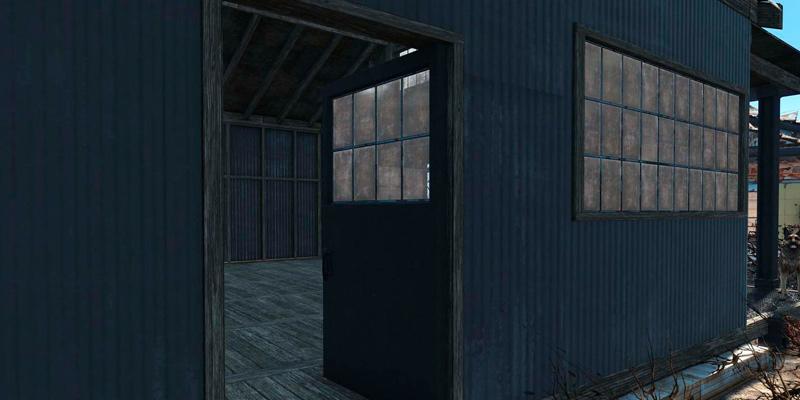 Чистые склады Моды для Fallout 4 / Фоллаут 4