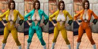Коллекция Секси комбинезонов CBBE Броня Моды для Fallout 4 / Фоллаут 4