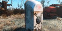 Ретекстур Автомата с молоком Оружие Моды для Fallout 4 / Фоллаут 4