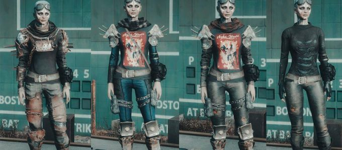 Рейдерская броня Моды для Fallout 4 / Фоллаут 4