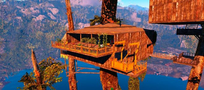 Дом на дереве Моды для Fallout 4 / Фоллаут 4