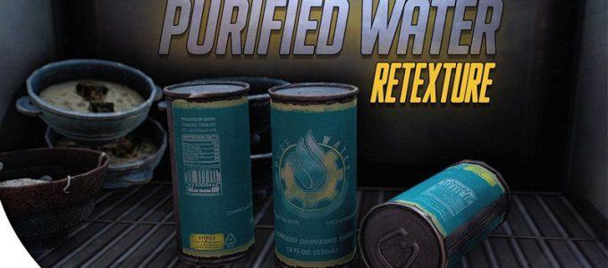 Ретекстур очищенной воды Графика Моды для Fallout 4 / Фоллаут 4