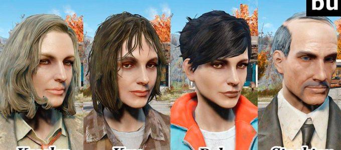 Измененные NPC Банкер-Хилл Моды для Fallout 4 / Фоллаут 4