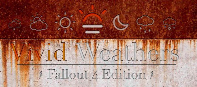 Разнообразная погода Fallout 4 Геймплей Моды для Fallout 4 / Фоллаут 4
