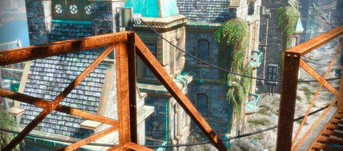 Ретекстур пожарного выхода Моды для Fallout 4 / Фоллаут 4