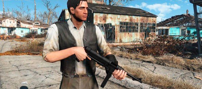 Немецкий MP-40 Оружие Моды для Fallout 4 / Фоллаут 4