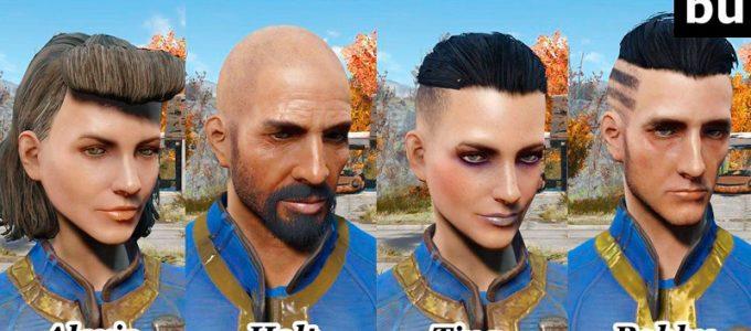 Измененные герои Убежище 81 Моды для Fallout 4 / Фоллаут 4
