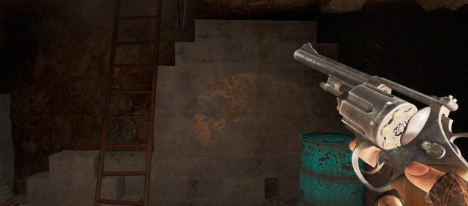 Револьвер в одной руке Оружие Моды для Fallout 4 / Фоллаут 4