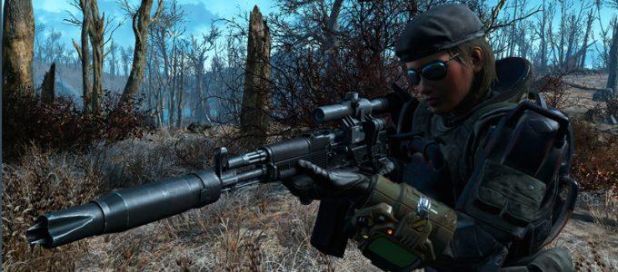 АК Русская штурмовая винтовка Оружие Моды для Fallout 4 / Фоллаут 4