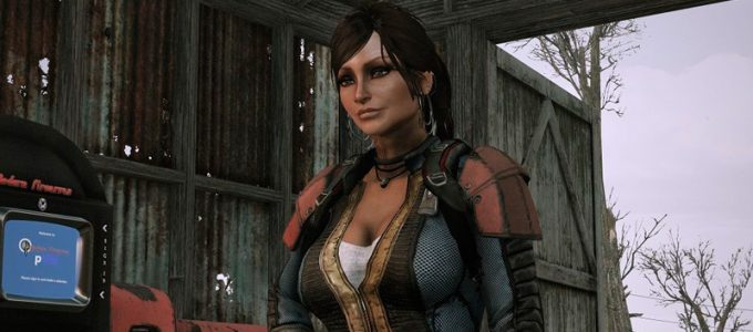 Серьги Броня и Одежда Моды для Fallout 4 / Фоллаут 4
