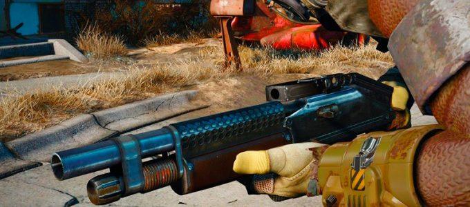 Траншейное ружье Моды для Fallout 4 / Фоллаут 4