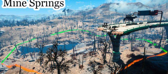 Западное поселение Локации Моды для Fallout 4 / Фоллаут 4