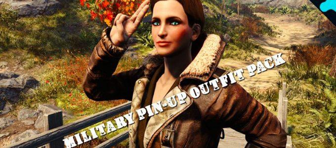 Набор военных костюмов Броня Моды для Fallout 4 / Фоллаут 4