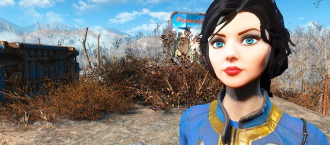 Elizabeth Companion Компаньон Элизабет Моды для Fallout 4 / Фоллаут 4