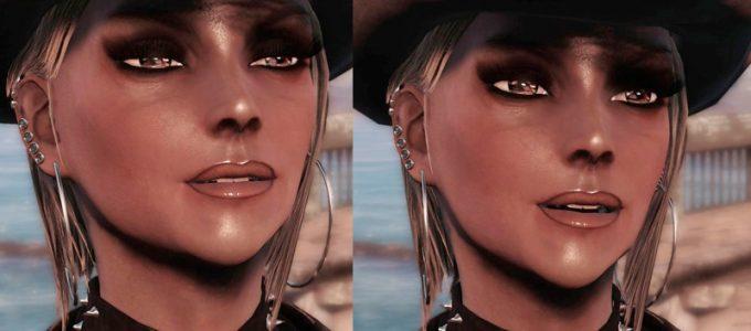 HD особые зубы Лица Моды для Fallout 4 / Фоллаут 4