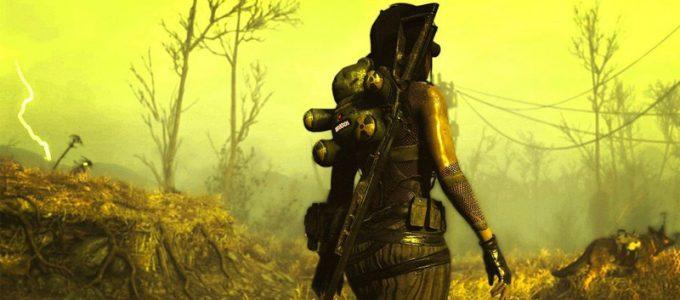 Костюм Атомной девушки Броня Моды для Fallout 4 / Фоллаут 4