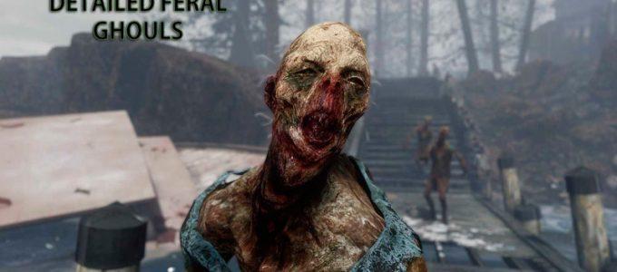 Детализированные дикие гули Моды для Fallout 4 / Фоллаут 4