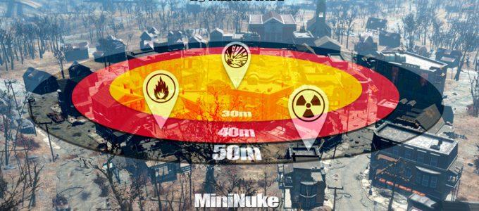 Атмосферные ядерные взрывы Геймплей Моды для Fallout 4 / Фоллаут 4