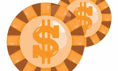 доллары фишки казино