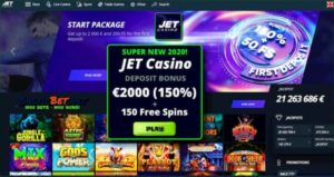 Обзор онлайн-казино Jet